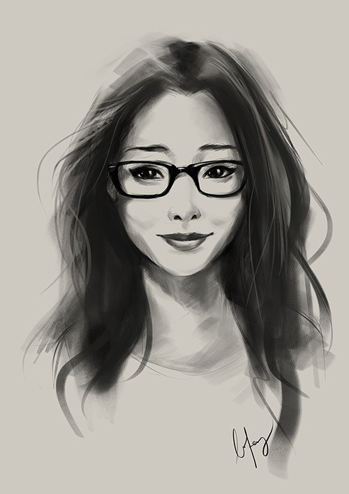 Amazing Portrait Illustrations by BoFeng