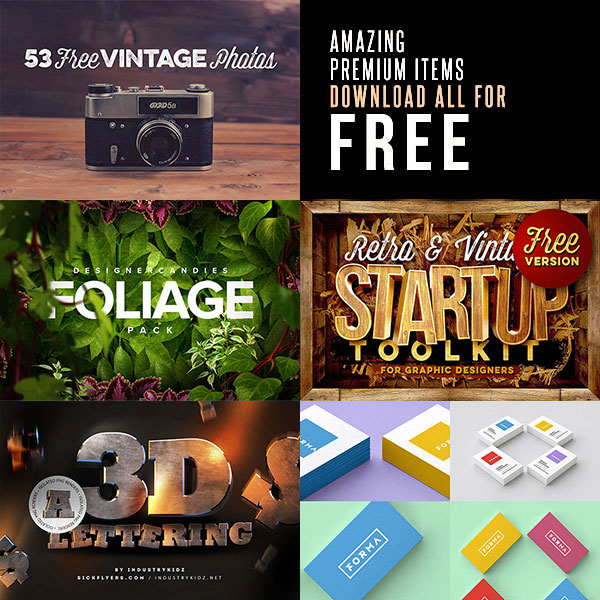 Premium Mock-up Templates for FREE