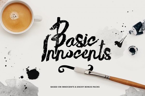 Basik Rough Typeface