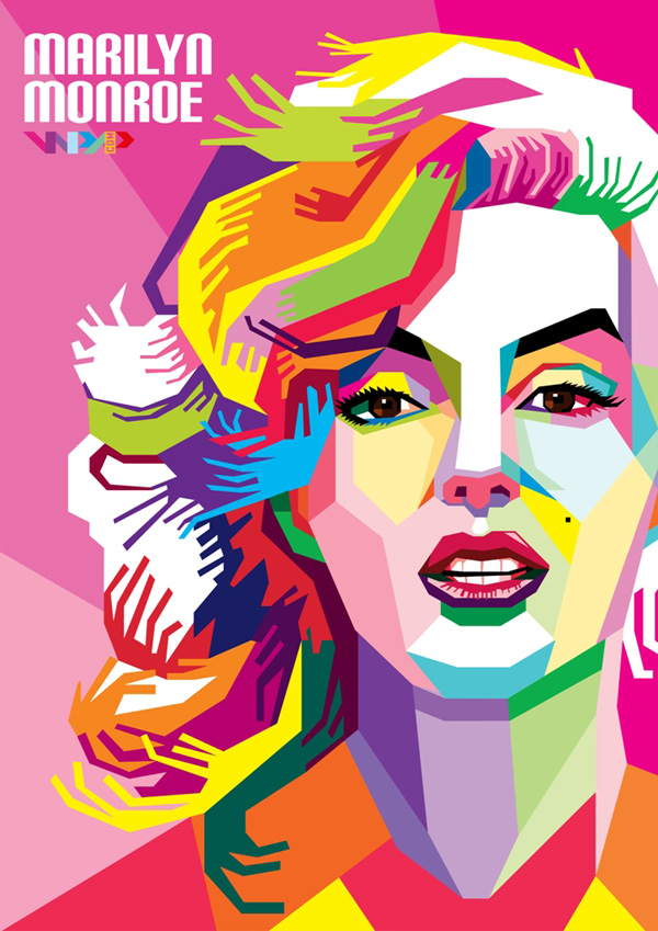WPAP Art Portrait Illustrations & Tutorials | Inspiration