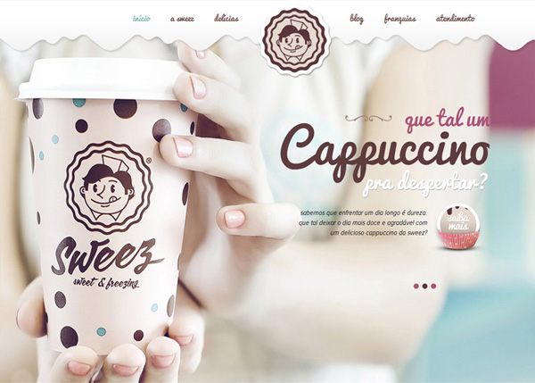 One Page Websites – 42 New Web Examples - 35