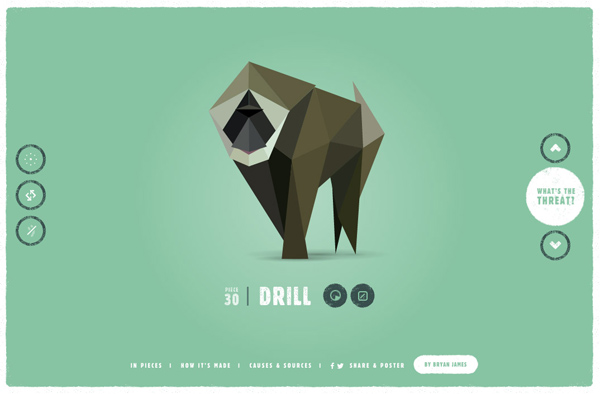 One Page Websites – 42 New Web Examples - 37