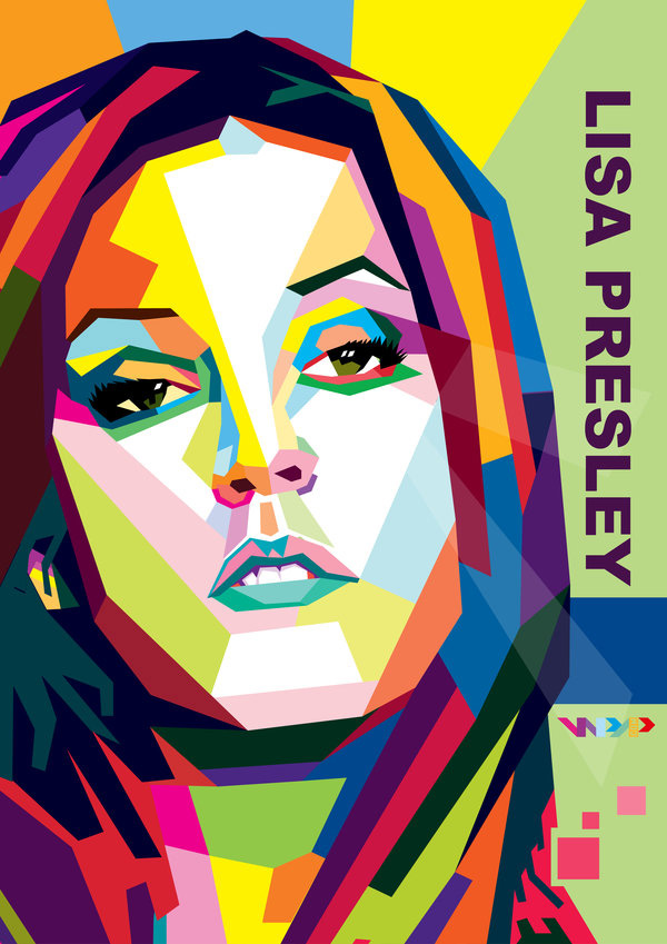 Lisa Presley In WPAP by ARaFah
