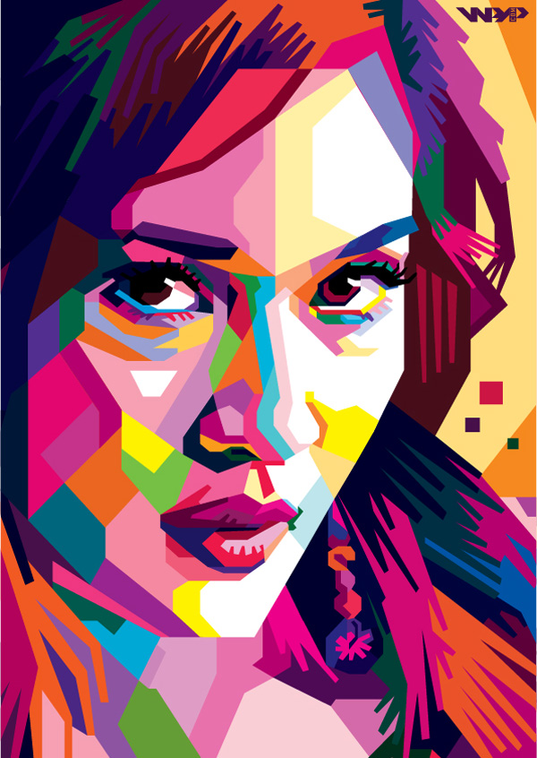 Dian Sastro In WPAP by ARaFah