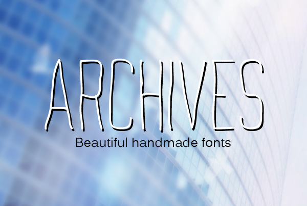 Archives Free Font