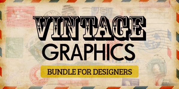 Biggest Vintage Graphics Bundle for Designers