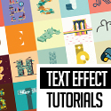 Post thumbnail of 25 Amazing Text Effect Photoshop & Illustrator Tutorials