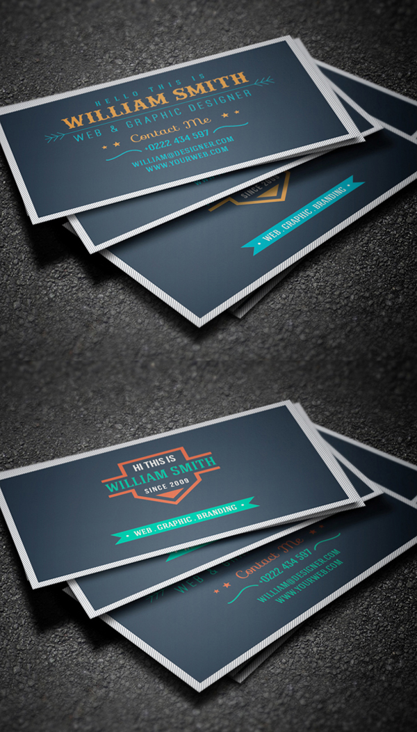 Business Cards Design: 50+ Amazing Examples to Inspire You - 9