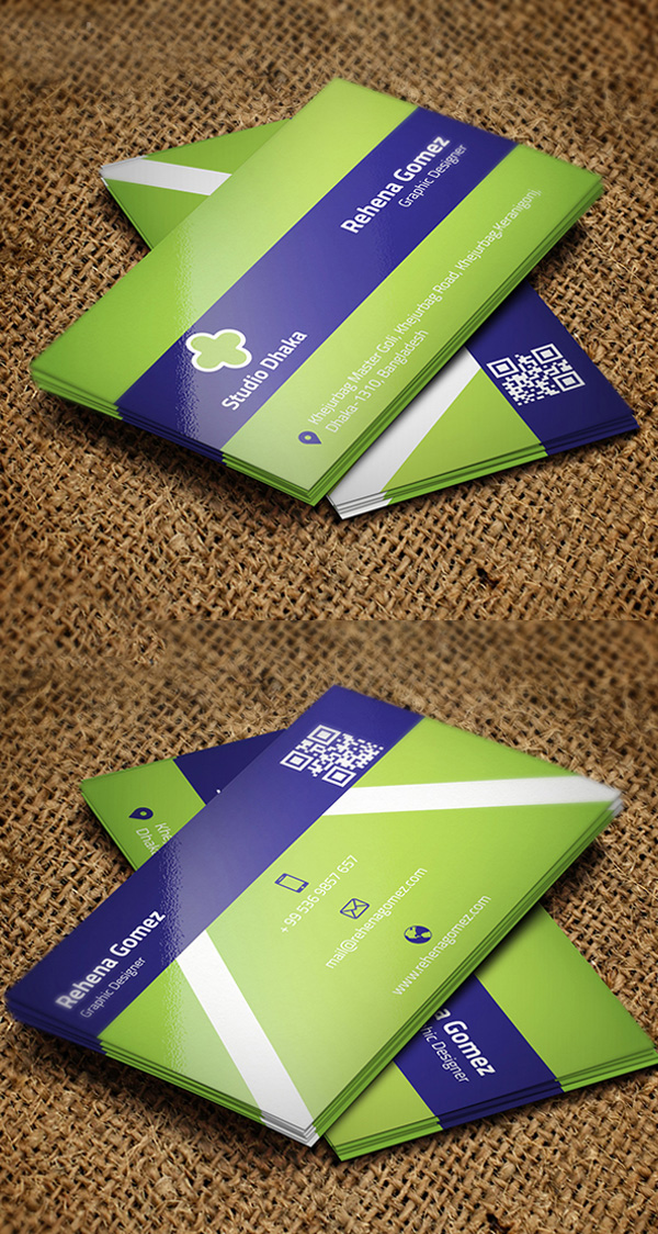 Free Eco Business Card Design