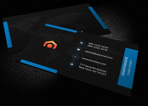 Free business cards psd templates mockups freebies graphic free business card psd template friedricerecipe