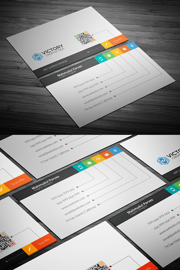 Free Business Cards PSD Templates Mockups | Freebies | Graphic ...