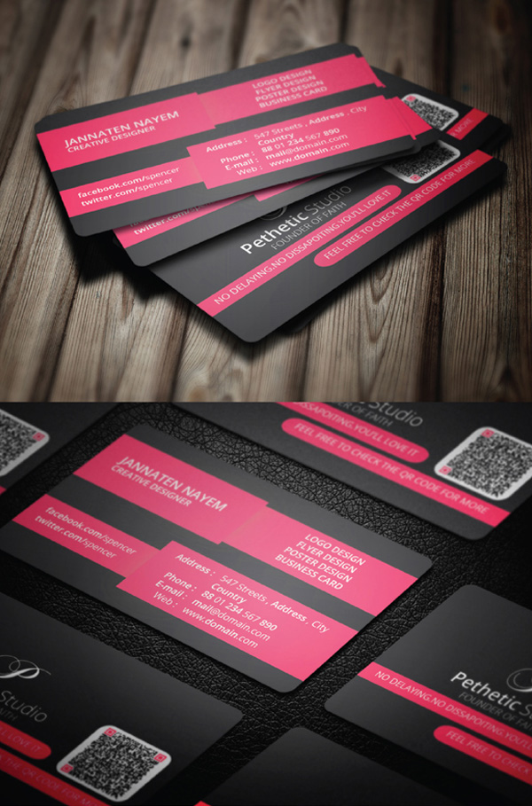 Free business cards psd templates mockups freebies graphic creative business card psd template wajeb Images
