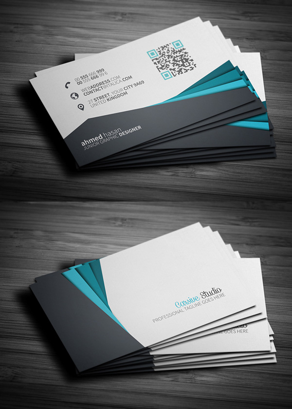 Free business cards psd templates mockups freebies graphic free creative business card template fbccfo