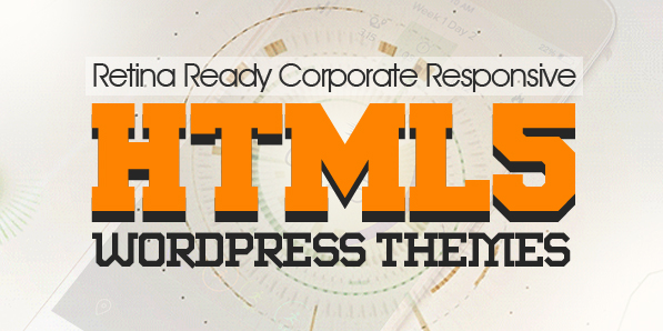 15 Fresh Responsive HTML5 WordPress Themes