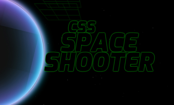 CSS Space Shooter
