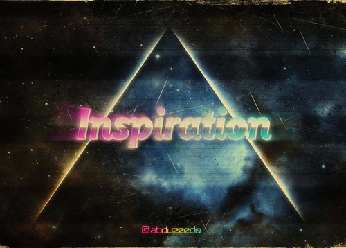 Create 1980s Type Effects in Photoshop Tutorial