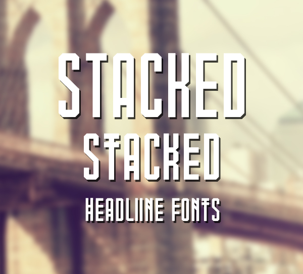 stacked Free Font