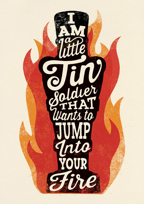 Typography Posters: 30 Motivational and Inspiring Quotes - 16