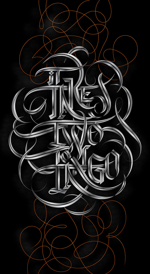 Type Lettering by Andrei Robu