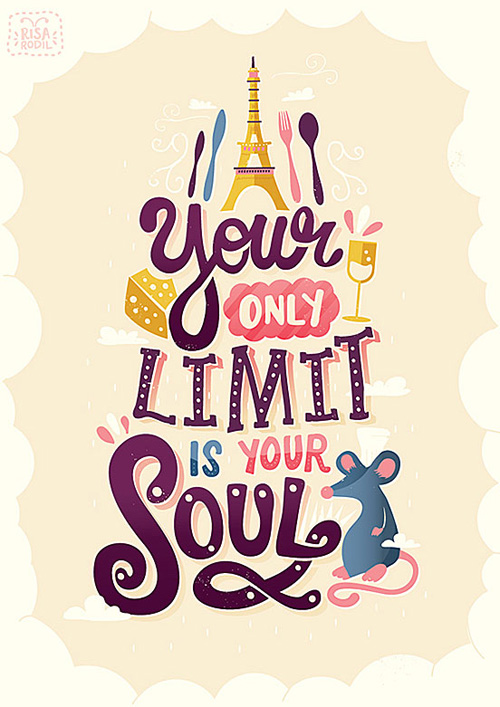 Typography Posters: 30 Motivational and Inspiring Quotes - 13