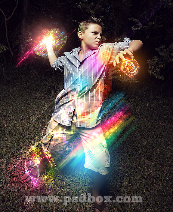 How to Create Cool Light Effects in Photoshop