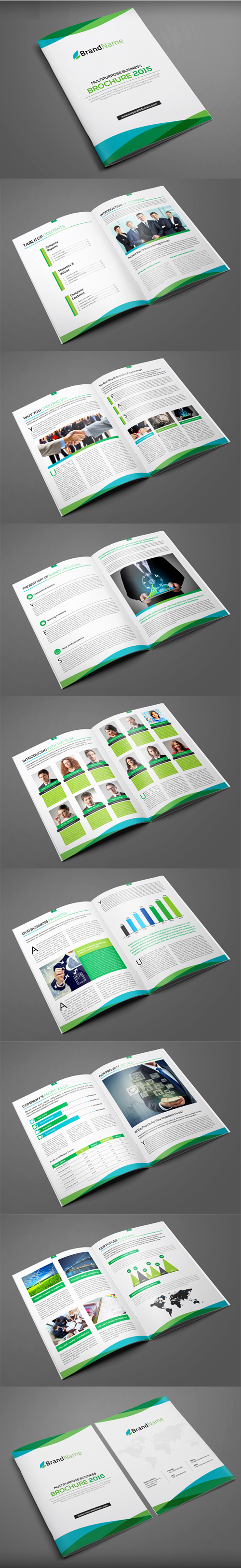Multipurpose Brochure Design