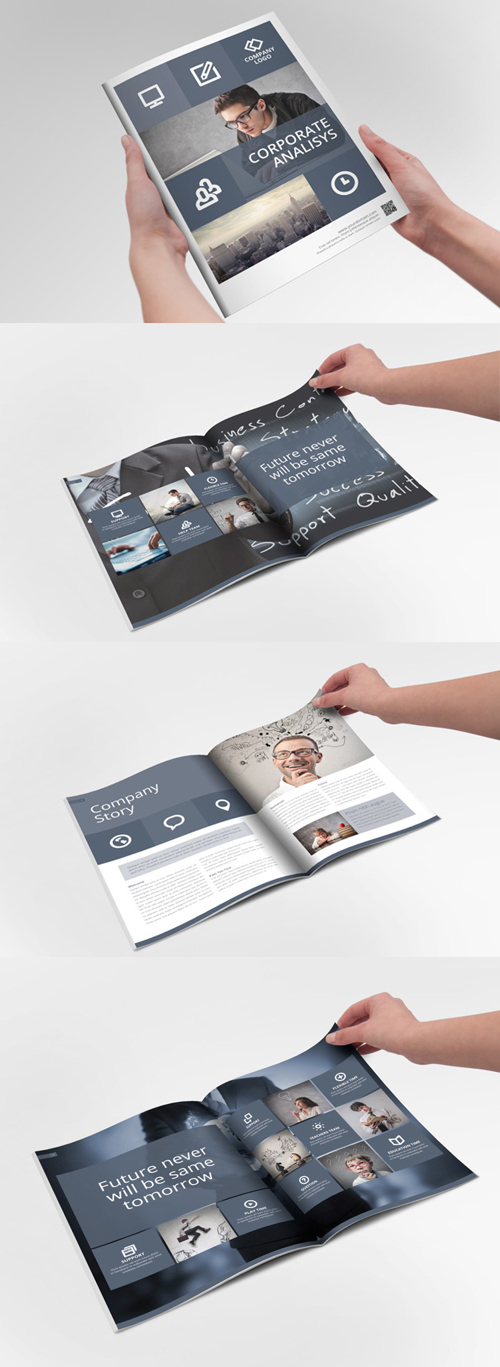 System Indesign Brochure Template