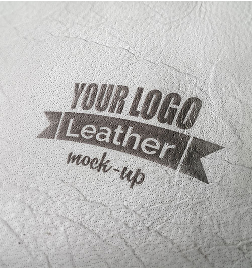 Photorealistic Leather Mock-up