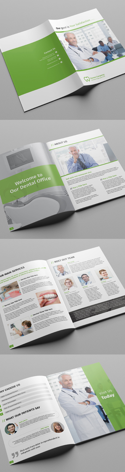 Dental / Doctor Brochure Template
