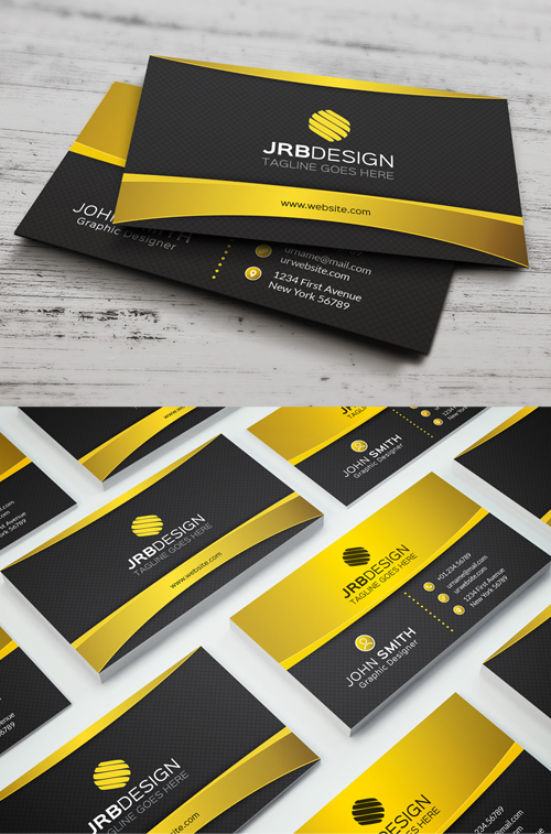 corporate business card psd templates design graphic design