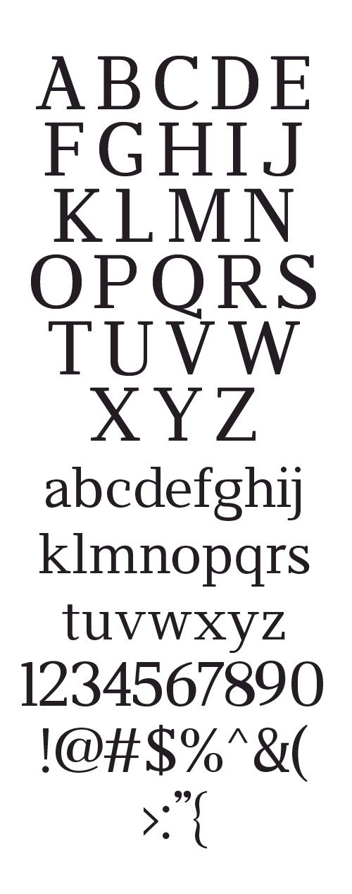 Didactic Font Letters