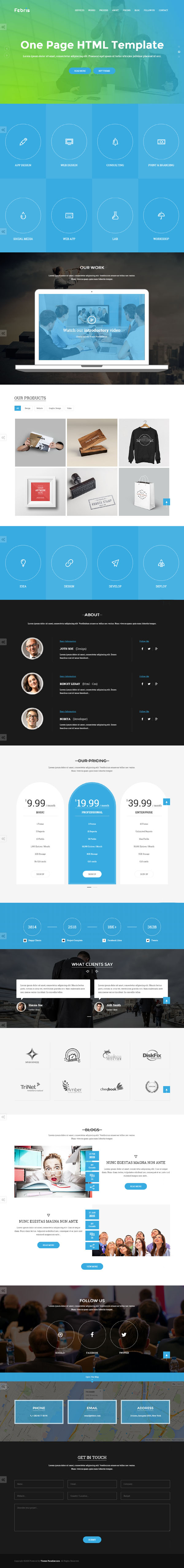 New Responsive HTML Web Templates Design Graphic Design Junction - Html5 web page template