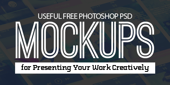 New Free Photoshop PSD Mockups for Designers (27 MockUps)