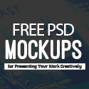 Post Thumbnail of New Free Photoshop PSD Mockups for Designers (27 MockUps)