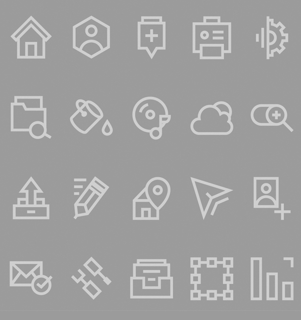 1000+ Free Outline Icons for UI Designers | Icons | Graphic