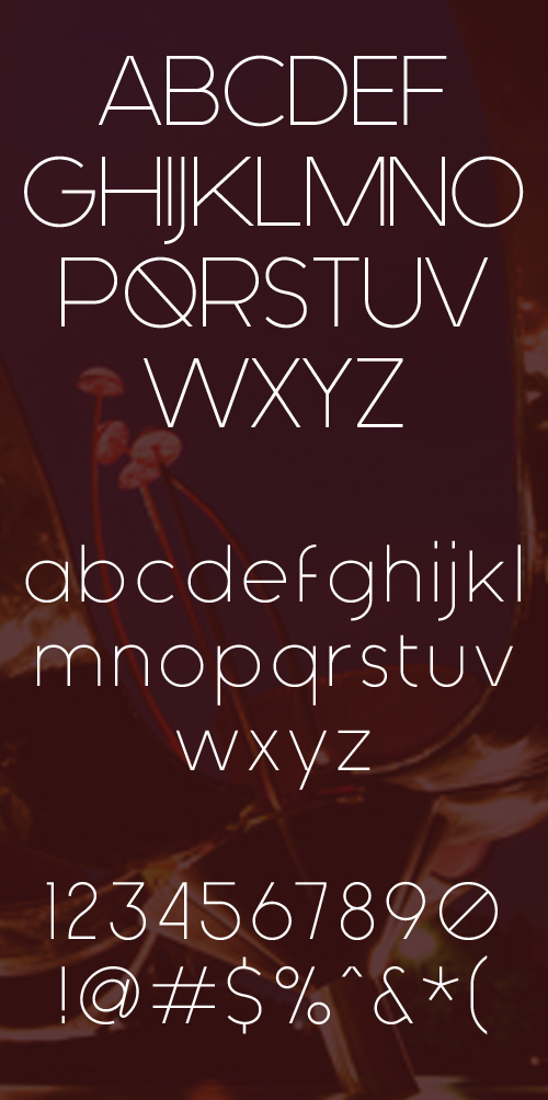 Generica Font - Letters