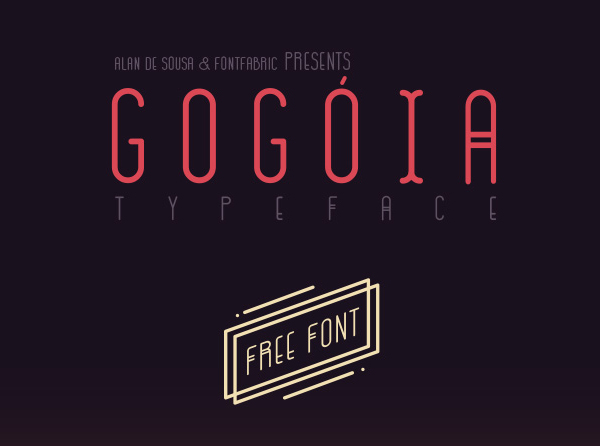 Gogoia Free Font for Designers