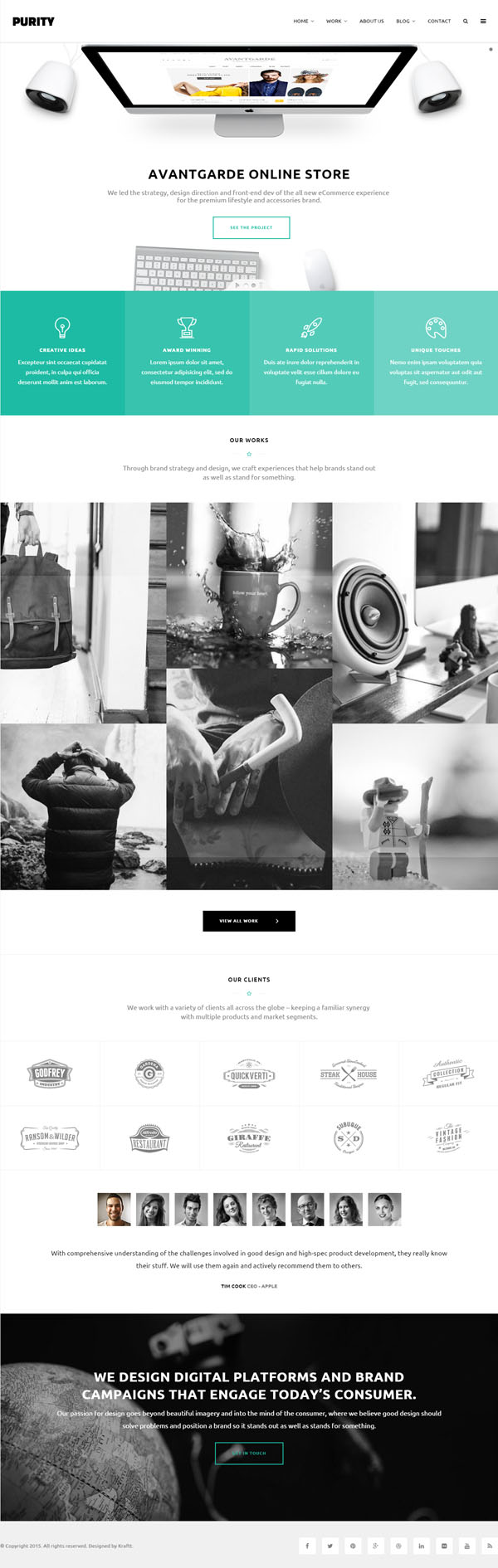 16 New Responsive HTML5 CSS3 Website Templates | Design | Graphic ...