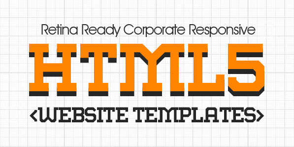 16 New Responsive HTML5 CSS3 Website Templates