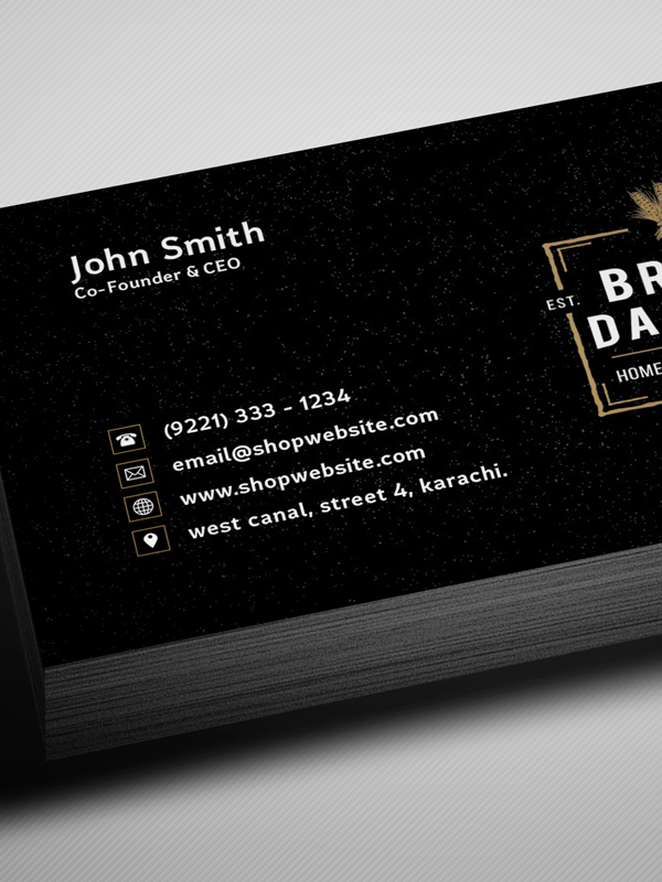 Free vintage black business card psd template freebies graphic free vintage style business card template mockup psd 1 reheart Gallery