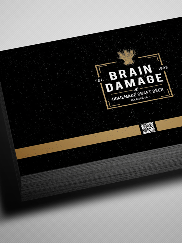 Free Vintage Black Business Card Psd Template Freebies Graphic