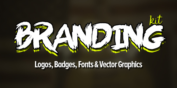 Branding Kit (650+ Logos, Badges, Fonts and Vectors)