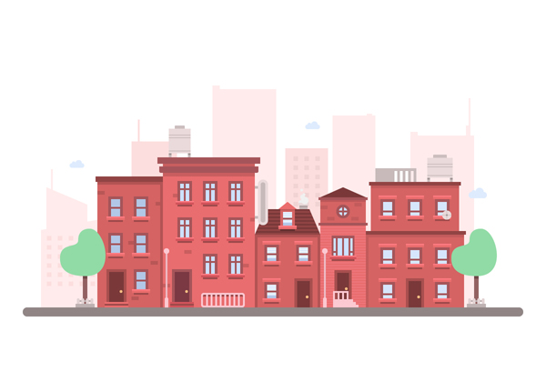 How to Create a Flat Cityscape in Adobe Illustrator