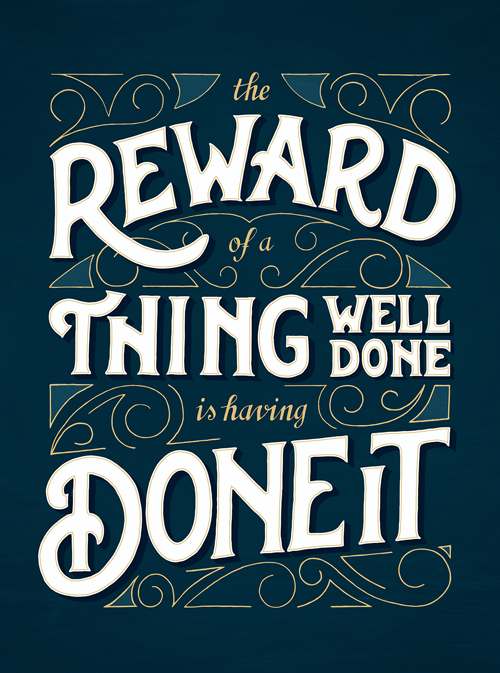 Typography Posters: 30 Motivational and Inspiring Quotes - 10