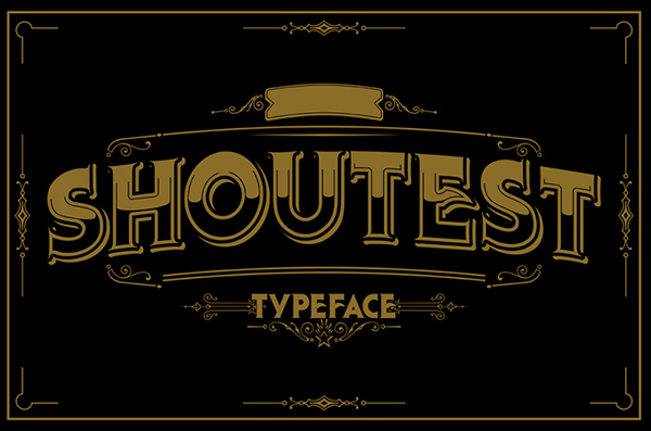 27 vintage fonts for designers resources graphic