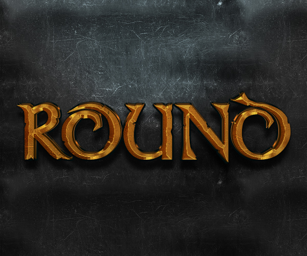 How to Create a Bronze Beveled Text Effect in Adobe Photoshop