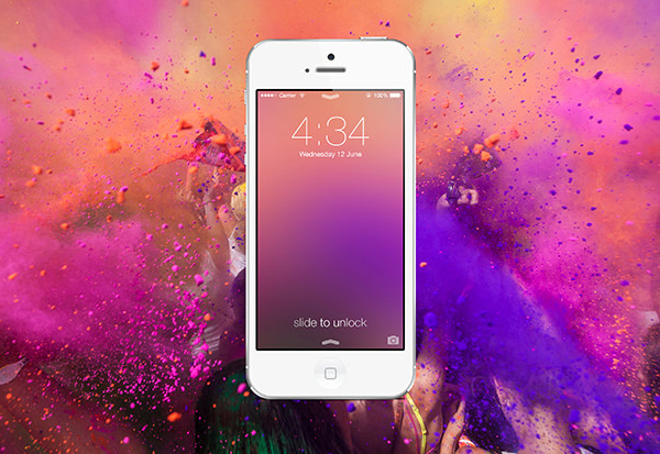 Create a Custom iOS 7 Style Blur Background in Photoshop