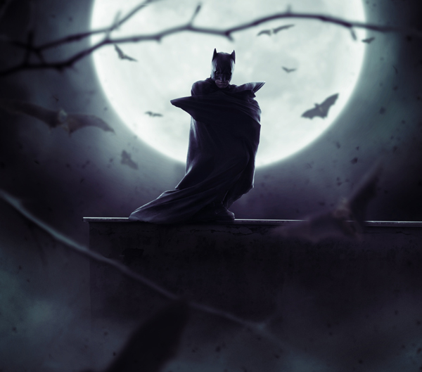 How to Create a Dark Batman Photo Manipulation in Adobe Photoshop