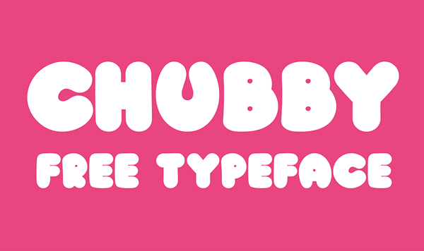 Chubby free fonts