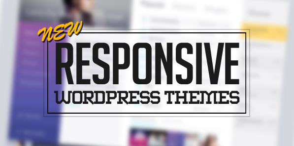 New Responsive WordPress Themes – 15 WP Themes